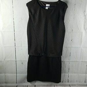 2b. Rych mixed media drop waist dress size 4
